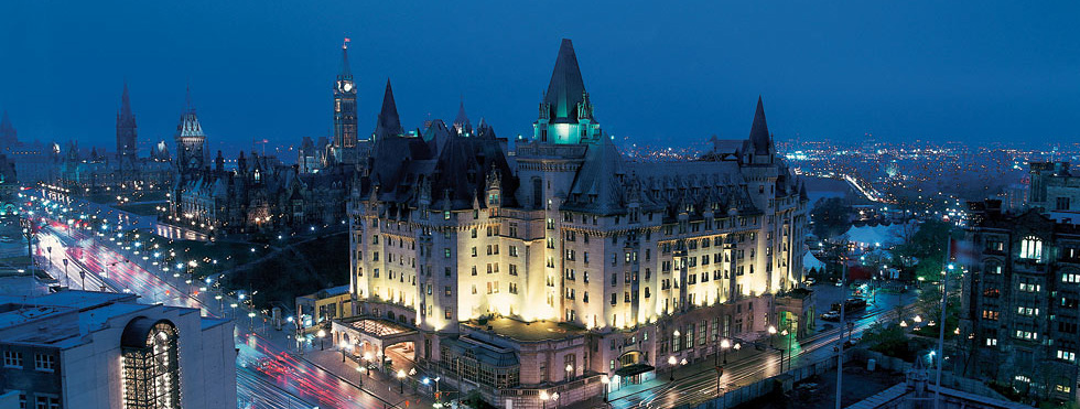 fairmont chateau laurier booking